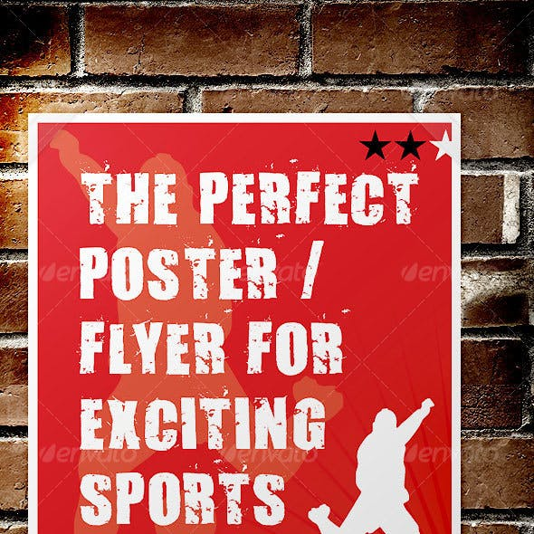 Sport Event Poster / Flyer