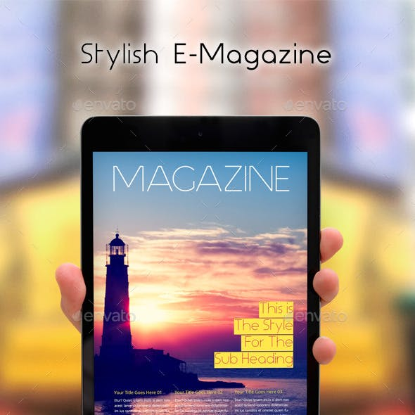 Stylish E-Magazine