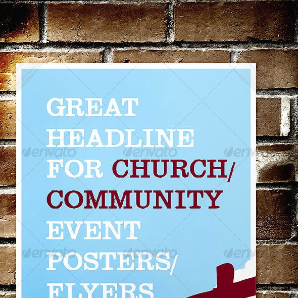 Church / Community Event Poster / Flyer
