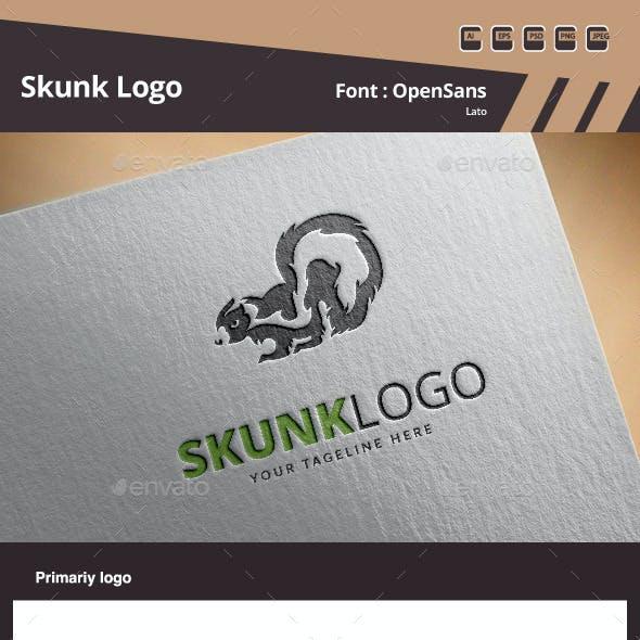 Skunk Logo Template