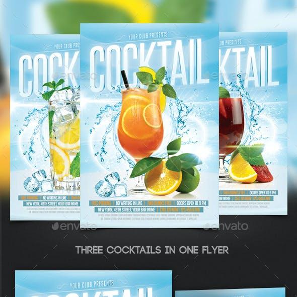 Cocktails Flyer Template