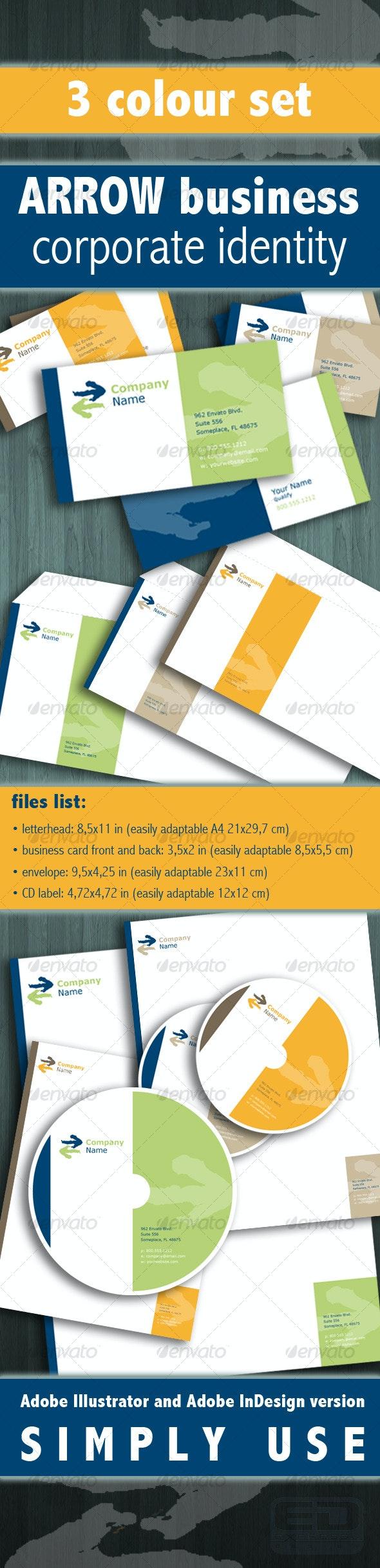 ARROW Business - Corporate Business Cards