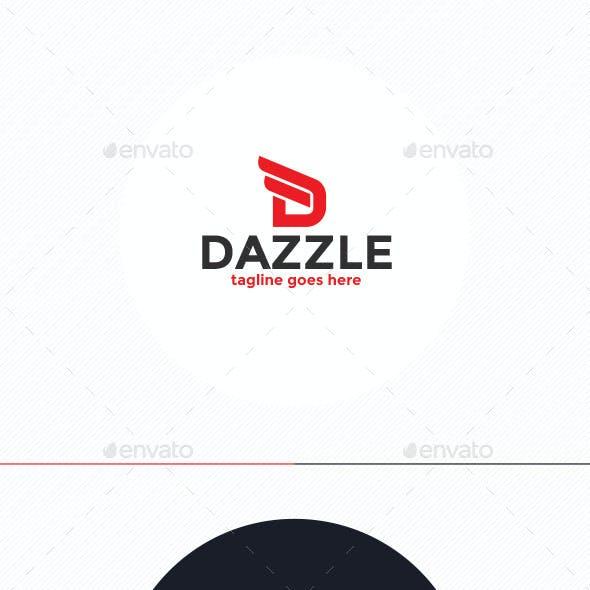 Dazzle Logo • Letter D