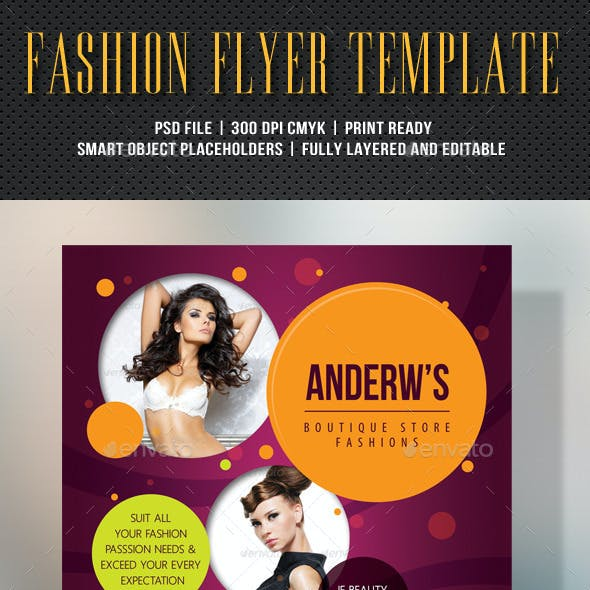 Fashion Product Flyer 60