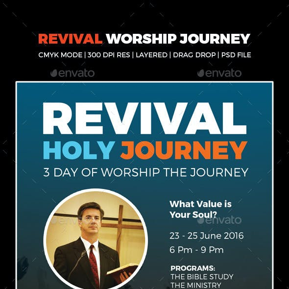 The Revival Worship Flyers