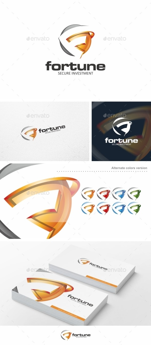 Fortune / F Letter - Logo Template - Letters Logo Templates