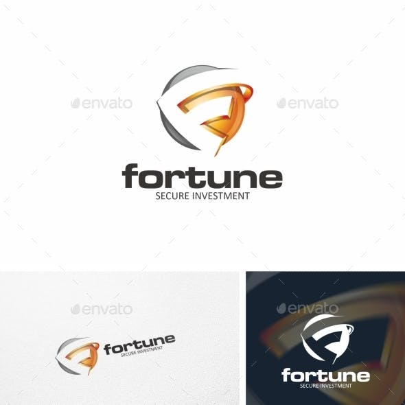Fortune / F Letter - Logo Template