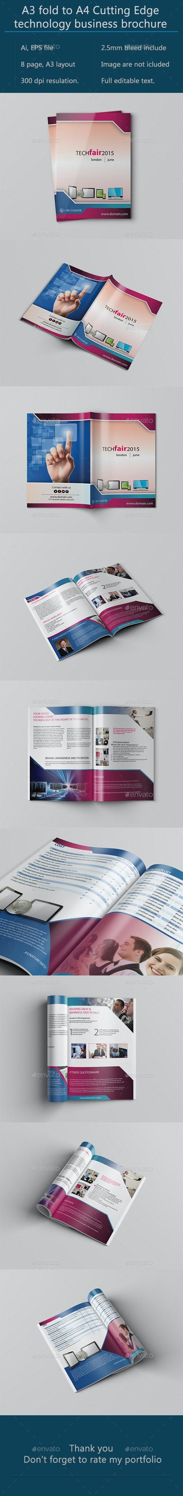 A3 Bifold Technology Brochure - Corporate Brochures