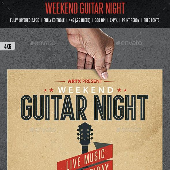 Weekend Guitar Night