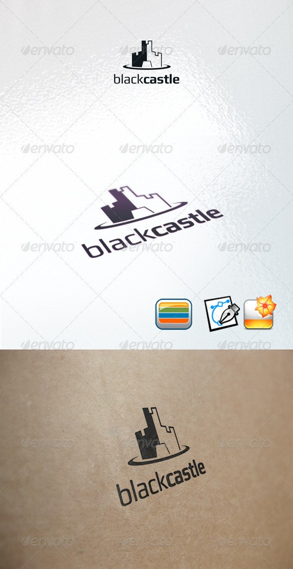 Blackcastle - Buildings Logo Templates