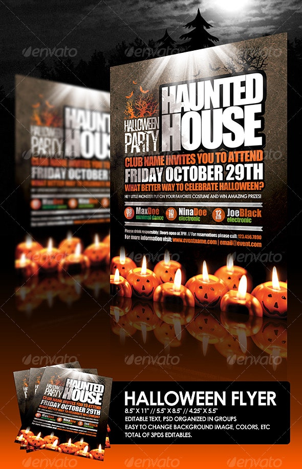 Halloween Flyer - Holidays Events