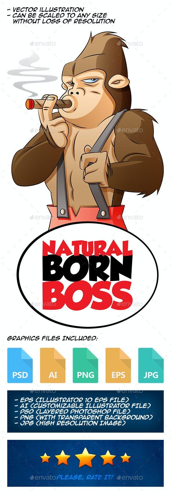 Natural Born Boss - Animals Characters