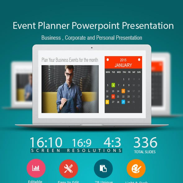 Event Planner Power Point Presentation