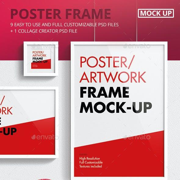 Poster / Artwork Frame Mock-Up