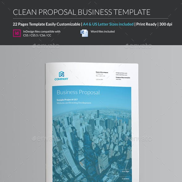 Company Proposal - Business Template