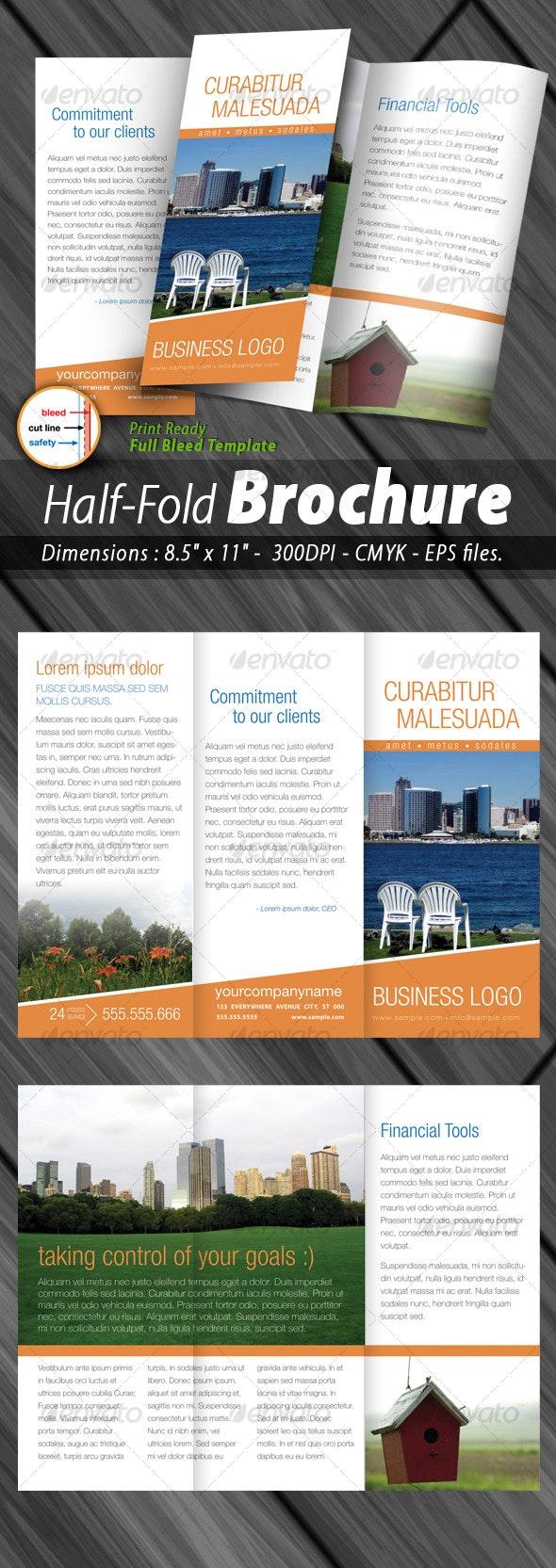 Tri-fold Brochure Print ready - Corporate Brochures