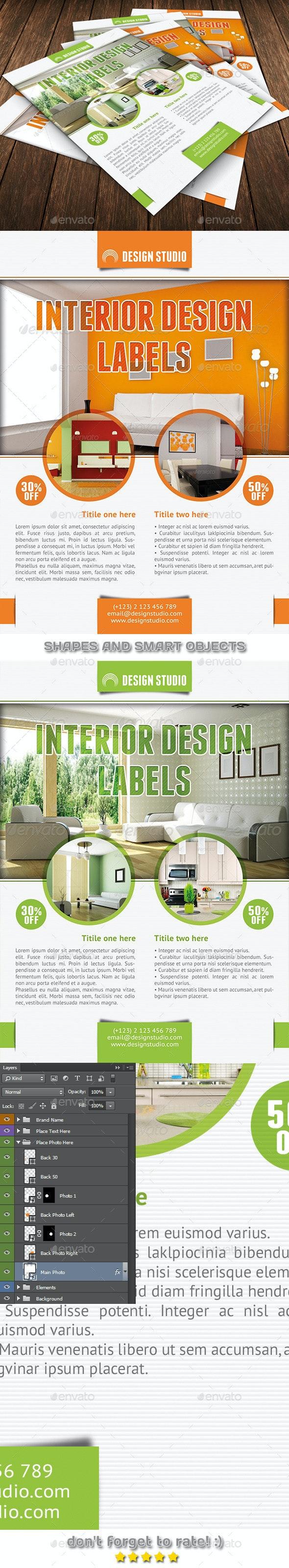 Interior Design Flyer Template 48 - Commerce Flyers
