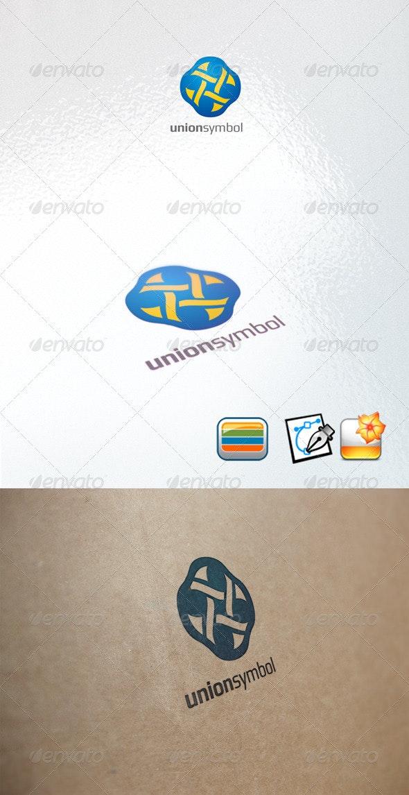 Unionsymbol - Letters Logo Templates