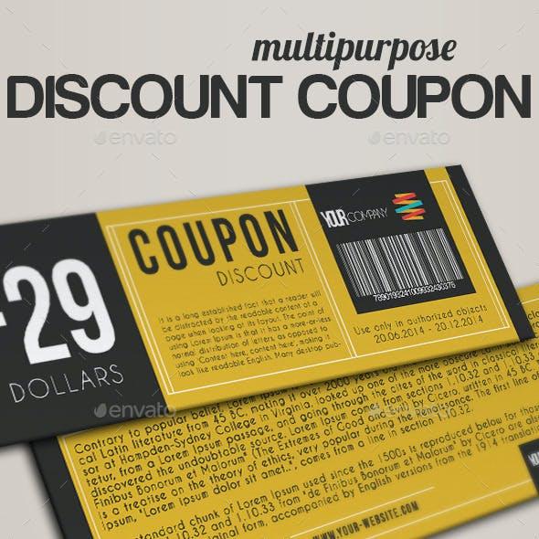 Elegant Discount Coupon