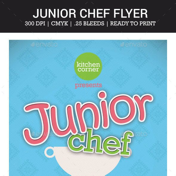 Junior Chef Flyer