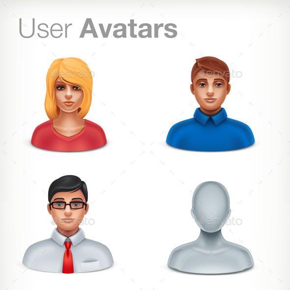 Basic User Avatars