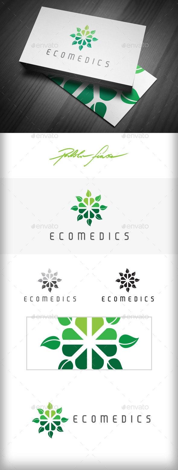 Eco Logo | Natural Health Logo | Nature Care Logo - Nature Logo Templates