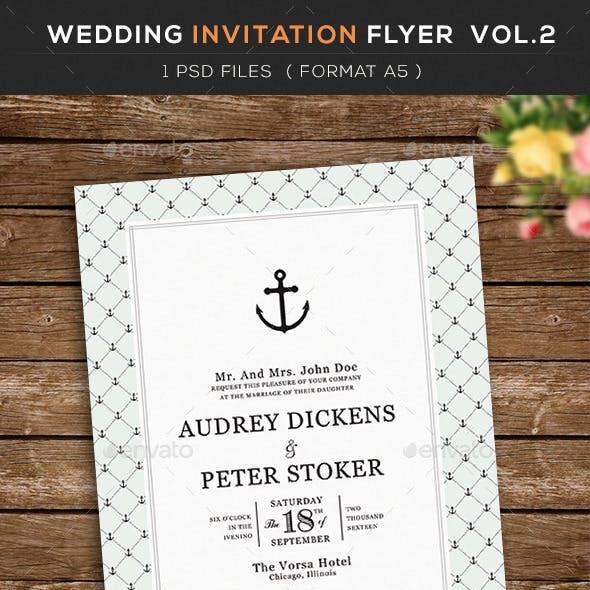 Wedding Invitation Flyer  vol.2