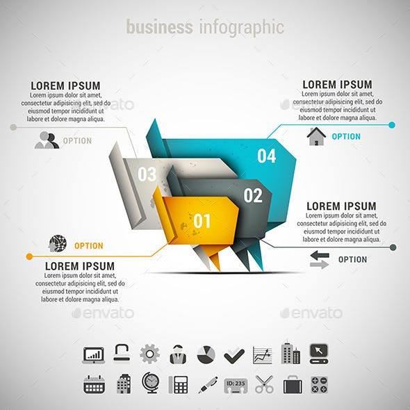 30 Best Make your own Infographics with GraphicRiver