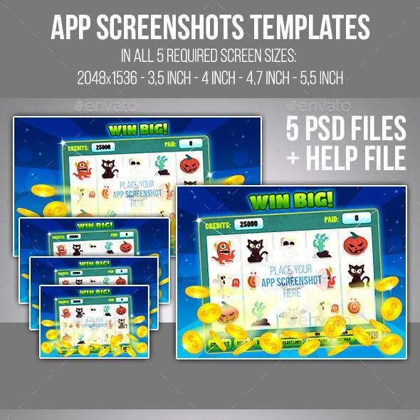 App Screenshots Templates Set #6