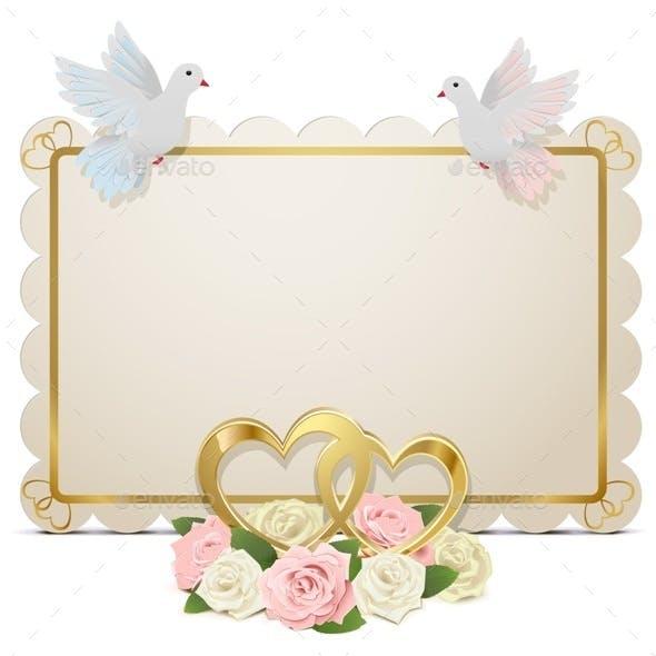 Vector Wedding Board
