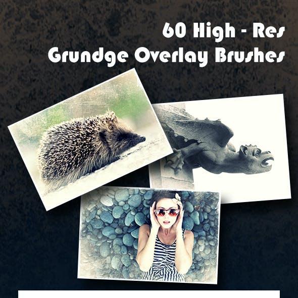 Grundge Overlays - Photoshop Brushes