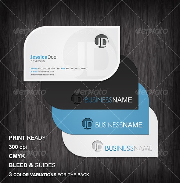 Clean Business Cards - Corporate Business Cards