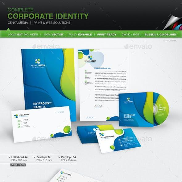 Corporate Identity - Xenya Media
