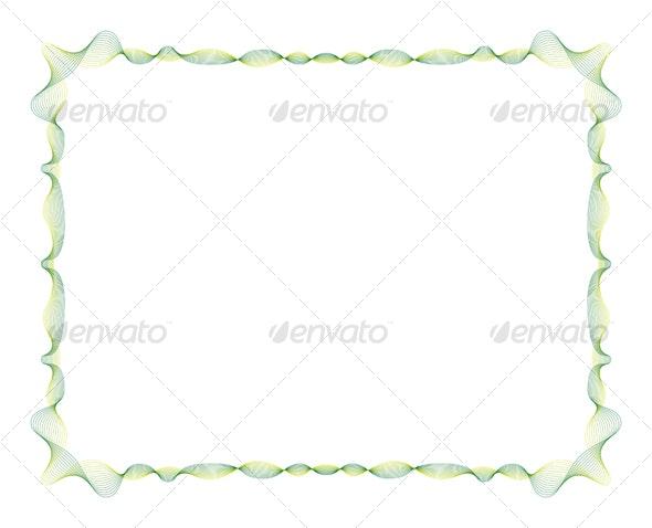 27 Lines Oscillating Frame - Borders Decorative