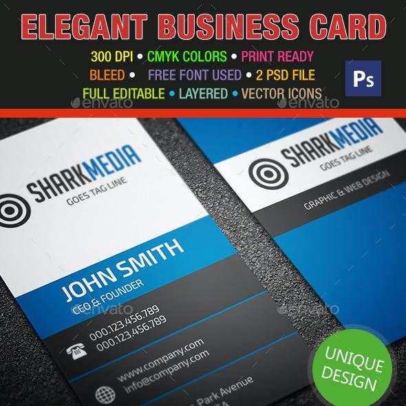Elegant Business Card 318