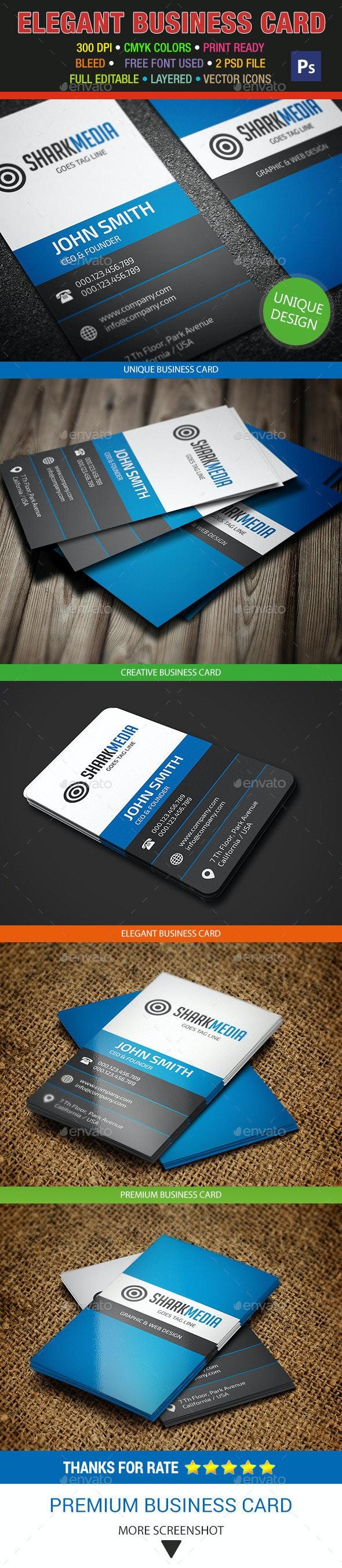 Elegant Business Card 318 - Creative Business Cards