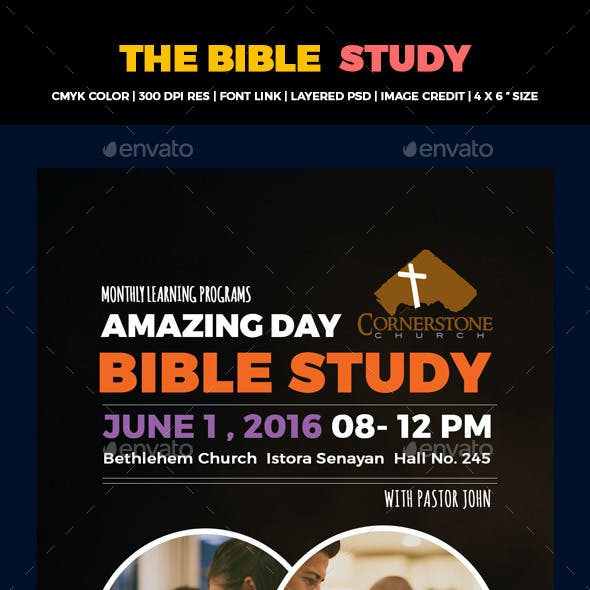 The Bible Study Flyers