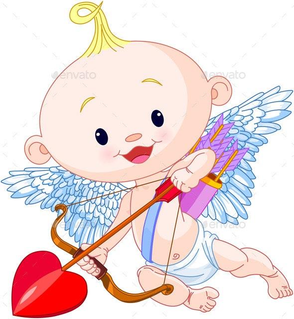 Valentine's Day Cupid - Valentines Seasons/Holidays