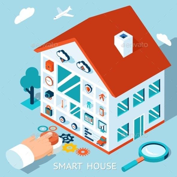 3D Smart Home Concept
