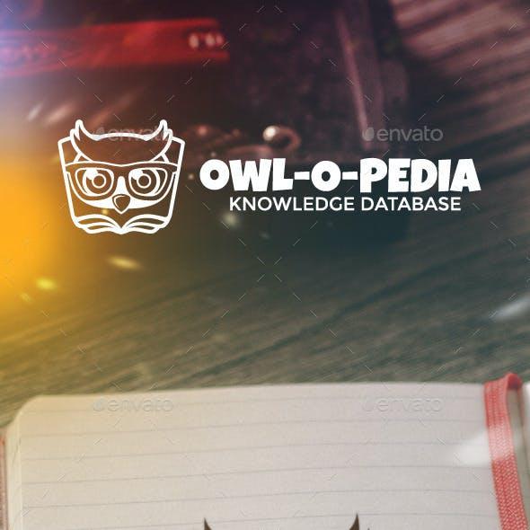Owl-o-pedia Logo