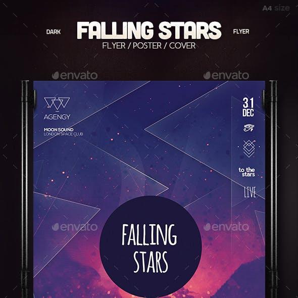 Falling Stars Poster