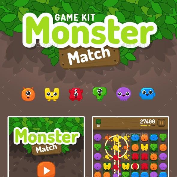 Monster Match Game Kit