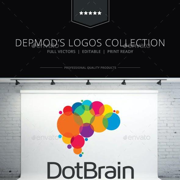 Dot Brain Logo