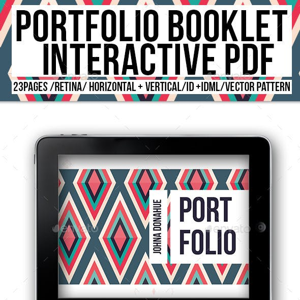 Portfolio Booklet Interactive PDF