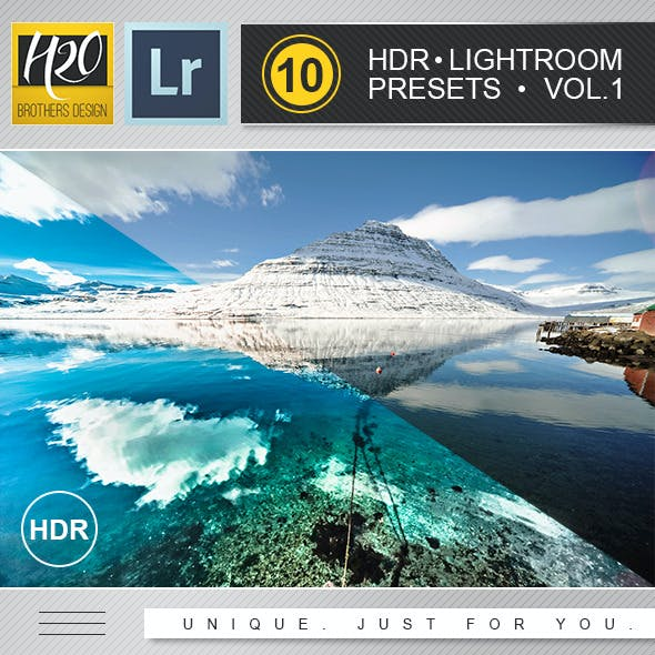 HDR Lightroom Presets Vol.1