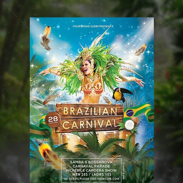 Brazilian Carnival Flyer / Poster