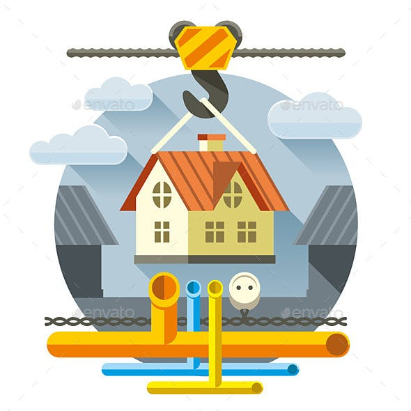 Fast Flat House