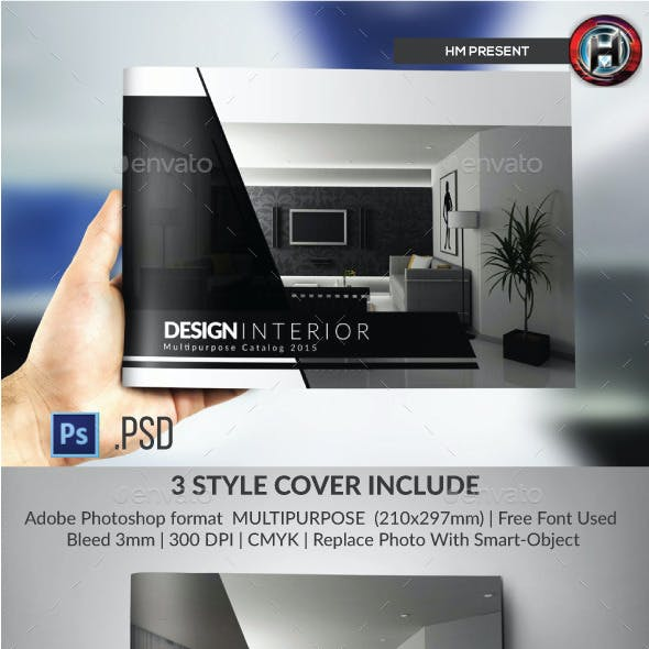 Multipurpose Catalogs / Brochure / Portfolio Template