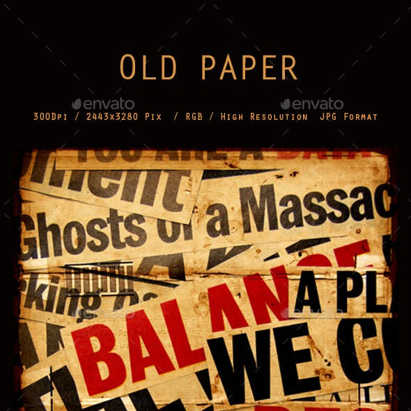 Old Paper Texture 0072