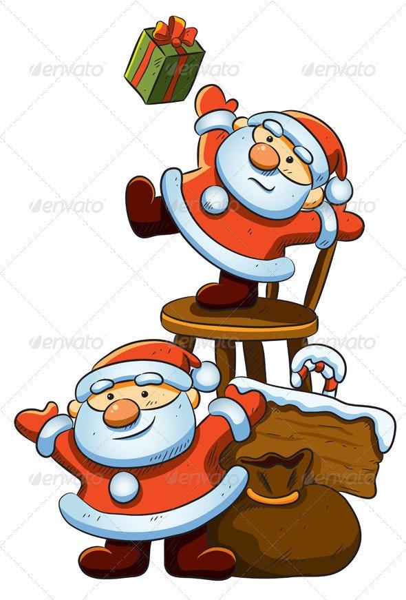 Cute Little Santa - Christmas Seasons/Holidays